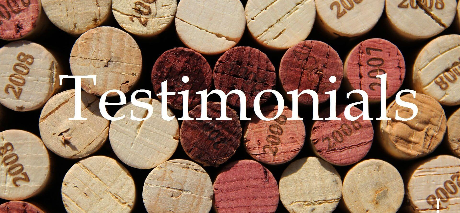 Long Island Wine Tours Testimonials
