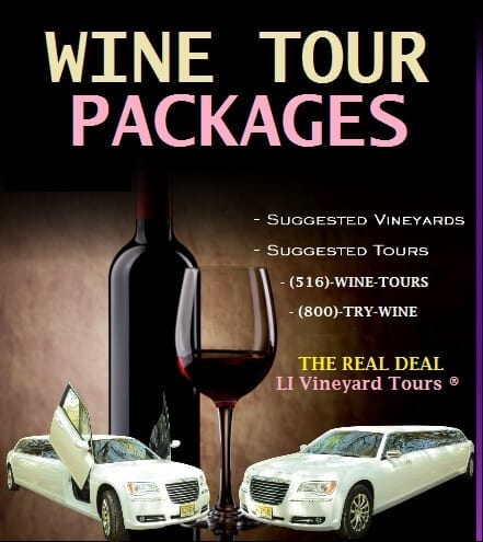 wine tour packages long island