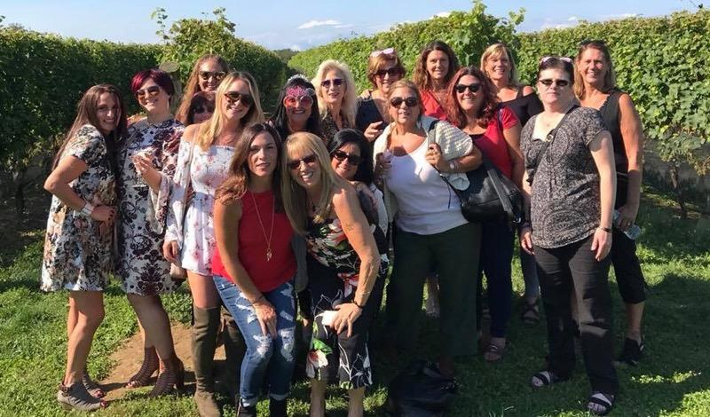 Bachelorette Party at the Long Island Vineyards