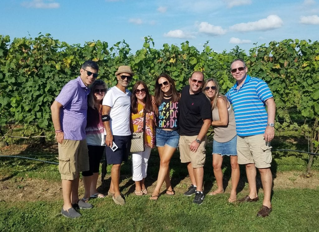Long Island Wine Tastings with Friends