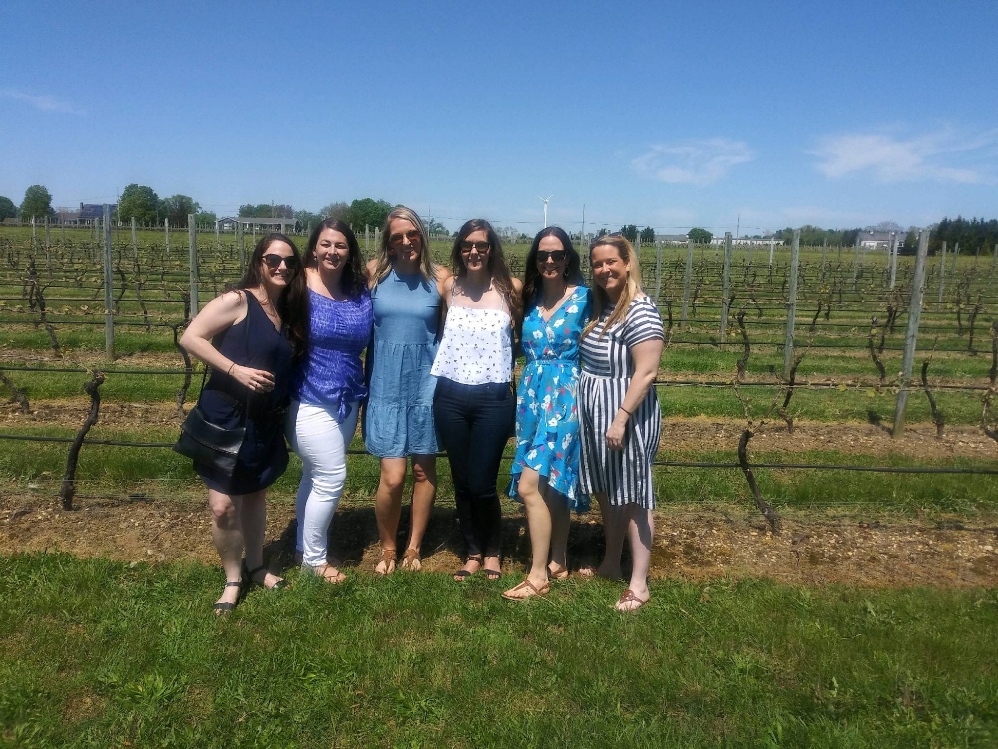 North Fork Wine Tour with Friends