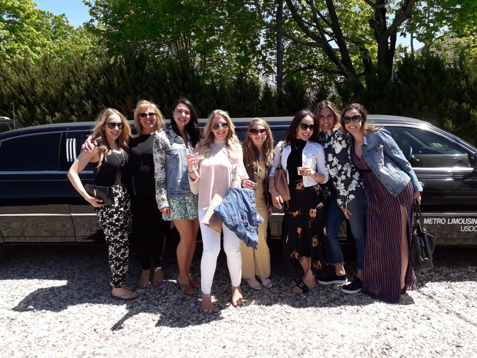 Bachelorette Party Wine Tour with Limo Service included by LI Vineyard Tours®