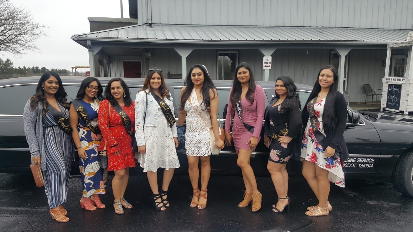 Bachelorette Wine Tours sampling Wine with LI Vineyard Tours®
