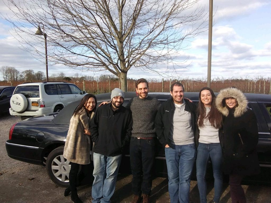 Great Day tasting and Sampling Wine with LI Vineyard Tours®