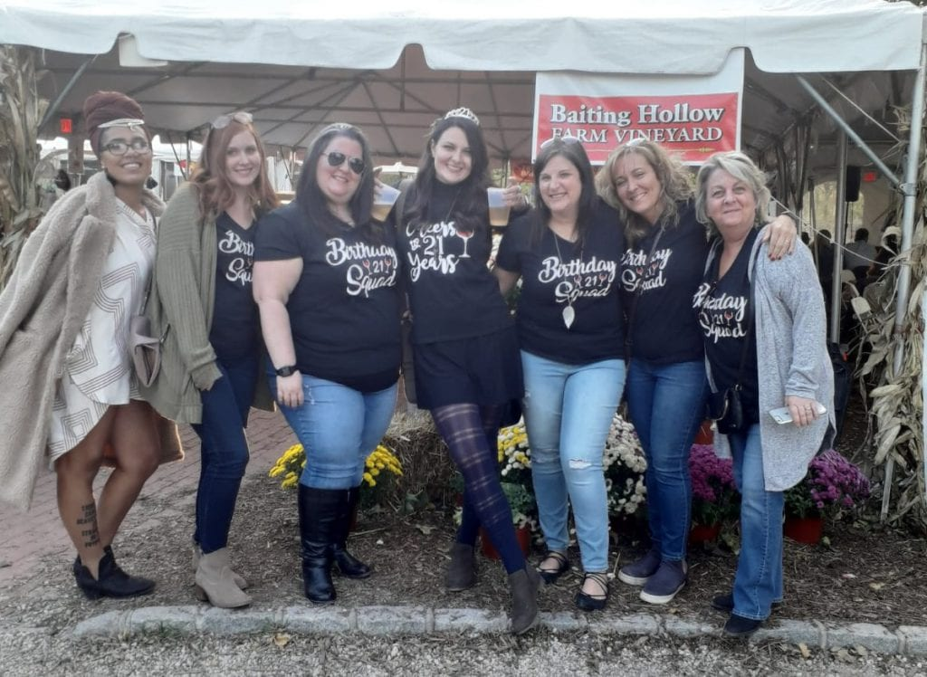 Long Island Bachelorette Party at the Wineries